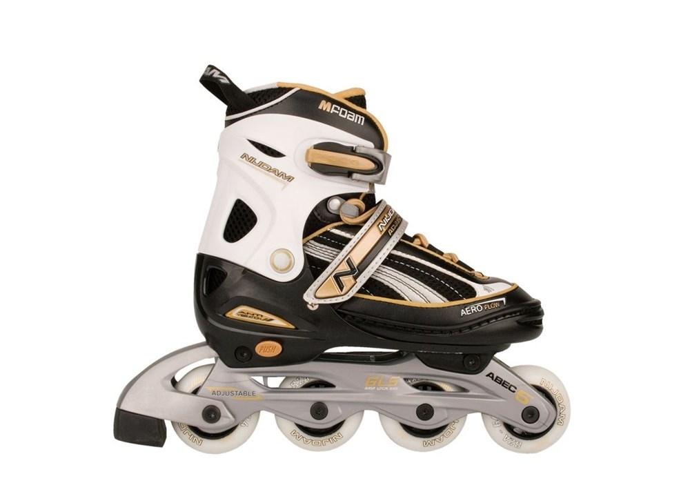 a4f992a2d20 Verstelbare Nijdam inline skates 28-29-30-31 - Skeelers - www ...