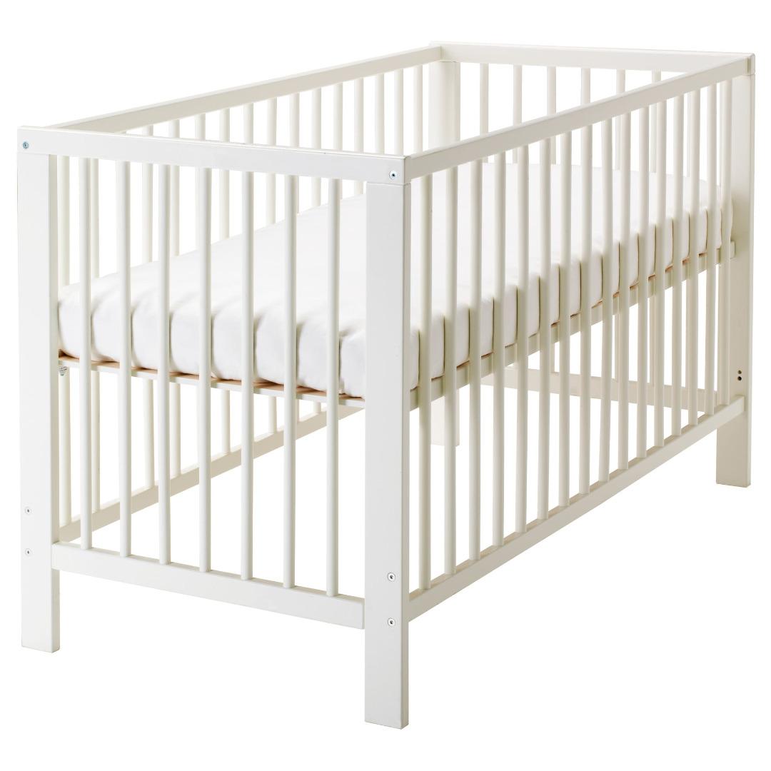 Babybed Aan Bed.Gulliver Babybedje 55x112 Met Matras